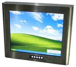 Rugged Industrial LCD monitor
